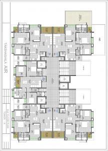 Gallery Cover Image of 1985 Sq.ft 3 BHK Apartment for buy in Takshashila Air, Ellisbridge for 13000000