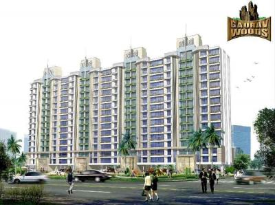 Gallery Cover Image of 1050 Sq.ft 2 BHK Apartment for rent in Ravi Gaurav Woods, Mira Road East for 15600
