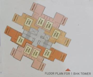 Gallery Cover Image of 650 Sq.ft 1 BHK Apartment for buy in Pyramid Altia, Sector 70A for 1287000