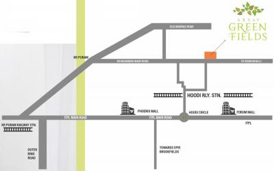 आर्यव ग्रीन फील्ड्स में खरीदने के लिए 1051.0 - 1615.0 Sq.ft 2 BHK अपार्टमेंट प्रोजेक्ट  की तस्वीर