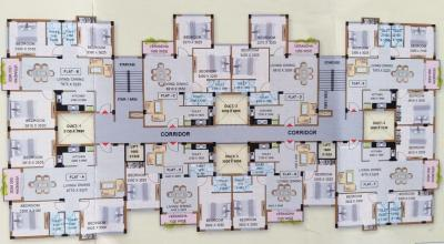 Gallery Cover Image of 1123 Sq.ft 2 BHK Apartment for buy in D S Dishari Enclave, South Dum Dum for 5053000