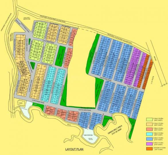 Project Image of 639.48 - 1800 Sq.ft Residential Plot Plot for buy in IBD Raisina Phase IV