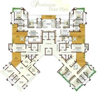 Project Image of 1241.0 - 1977.0 Sq.ft 3 BHK Apartment for buy in Ashford Royale