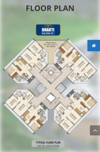 Project Image of 0 - 271.0 Sq.ft 1 BHK Apartment for buy in Dhartidhan Dharti