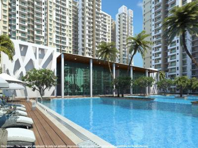 Gallery Cover Image of 1235 Sq.ft 3 BHK Apartment for rent in Mahagun Mywoods, Noida Extension for 11000