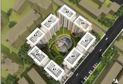 Gallery Cover Image of 2300 Sq.ft 3 BHK Apartment for rent in Lunkad Sky Vie, Viman Nagar for 60000
