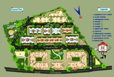 Project Image of 248 - 419 Sq.ft 1 BHK Apartment for buy in Sanghvi S3 Paradise Phase 1