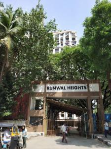 Gallery Cover Image of 850 Sq.ft 2 BHK Apartment for rent in Runwal Heights, Mulund West for 35000