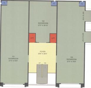 Project Image of 1075.41 - 2153.25 Sq.ft Shop Shop for buy in Kudrat Swasthi Business Center