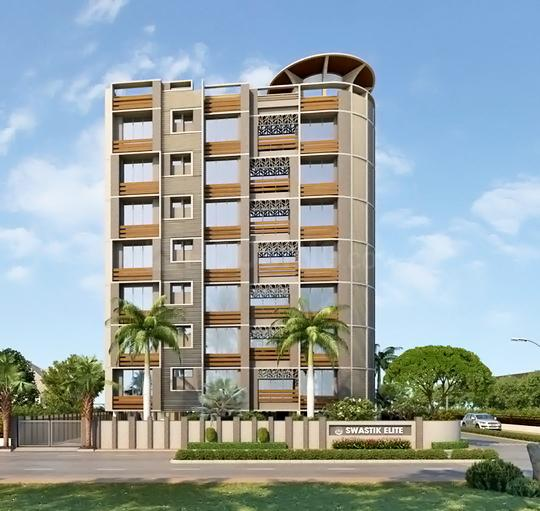 Project Image of 2300.0 - 2500.0 Sq.ft 3 BHK Apartment for buy in Shapers Swastik Elite