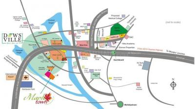Residential Lands for Sale in Radha Mapletown Phase II