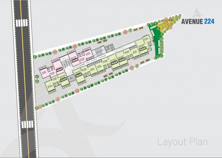 Project Image of 228.73 - 283.31 Sq.ft 1 RK Apartment for buy in Avenue 224