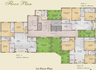Project Image of 0 - 2386.0 Sq.ft 3 BHK Apartment for buy in Eden Imperial