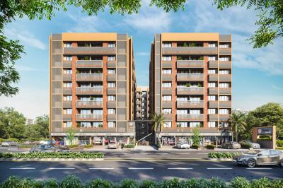 Project Image of 0 - 710.0 Sq.ft 2 BHK Apartment for buy in Shyam One40