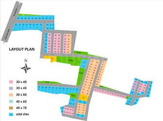 Project Image of 1200.0 - 2800.0 Sq.ft Residential Plot Plot for buy in Reliaable Woods