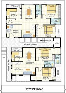Project Image of 0 - 1070.0 Sq.ft 2 BHK Apartment for buy in Jaiveer Manikanta Homes