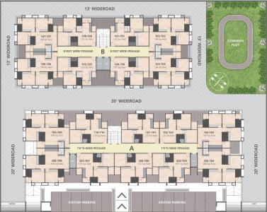Project Image of 1125.0 - 1512.0 Sq.ft 2 BHK Apartment for buy in Atithi Ashray