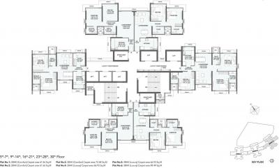 Project Image of 1050 Sq.ft 2 BHK Apartment for buyin Mulund West for 28000000