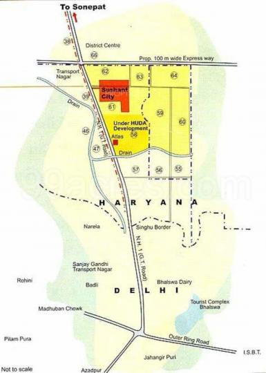 Project Image of 1743.75 - 2260.42 Sq.ft Residential Plot Plot for buy in Ansal API Sushant City Sonipat