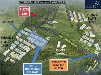 Residential Lands for Sale in Jupiter Valley of Flowers Plots