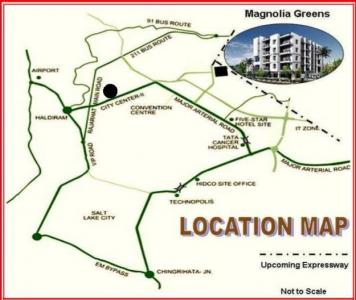 Project Image of 969 - 1155 Sq.ft 2.5 BHK Apartment for buy in Magnolia Greens