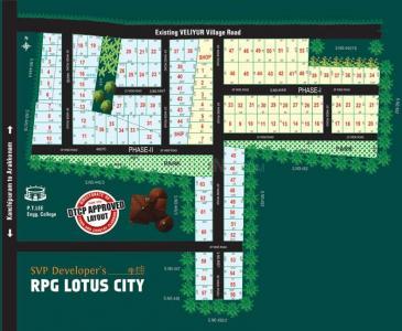 Project Image of 1100 - 2887 Sq.ft Residential Plot Plot for buy in SVP RPG Lotus City