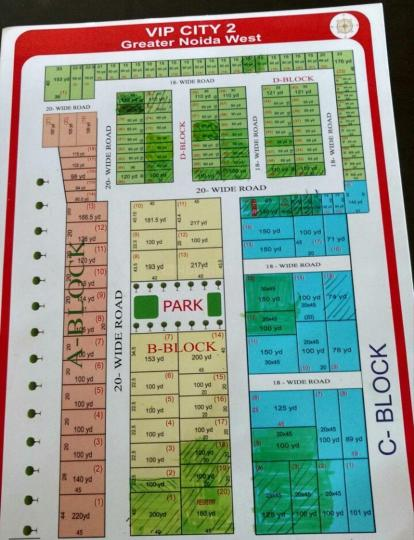 Project Image of 450.0 - 1980.0 Sq.ft Residential Plot Plot for buy in Budget VIP City 2