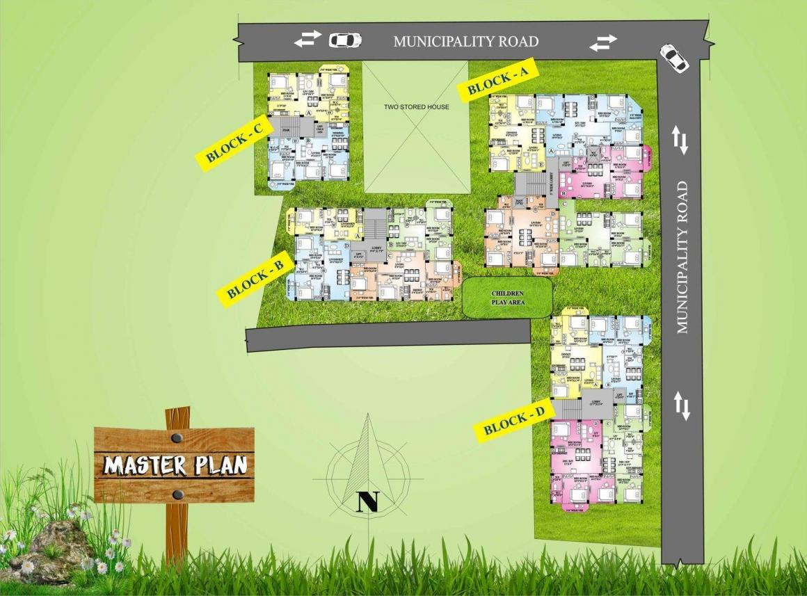 Project Image of 511.0 - 1250.0 Sq.ft 1 BHK Apartment for buy in Unique Parkwoods