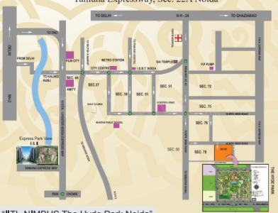 Project Image of 525 - 2380 Sq.ft 1 BHK Apartment for buy in Nimbus Hyde Park