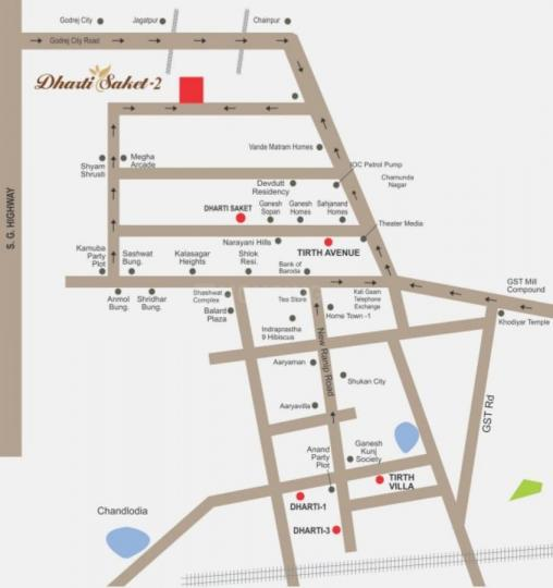 Project Image of 1008.0 - 1440.0 Sq.ft 2 BHK Apartment for buy in Samarth Dharti Saket 2