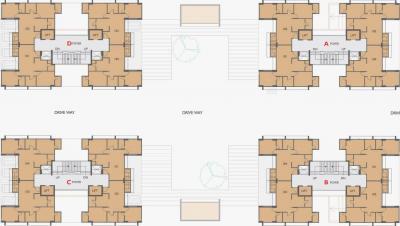 Project Image of 816 - 817 Sq.ft 3 BHK Apartment for buy in Soham Dev Parijat