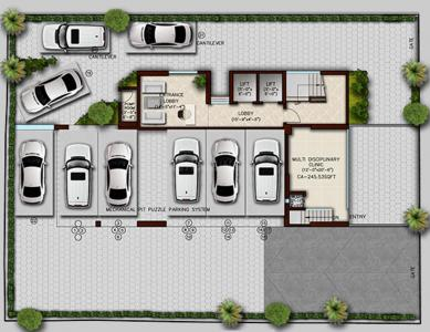 Project Image of 496.0 - 1133.0 Sq.ft 2 BHK Apartment for buy in Green Vishakha