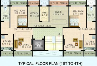 Project Image of 216 - 326 Sq.ft 1 RK Apartment for buy in Desire Nilgiri Apartment