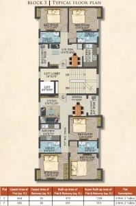 Project Image of 919.0 - 1360.0 Sq.ft 2 BHK Apartment for buy in Shrivats