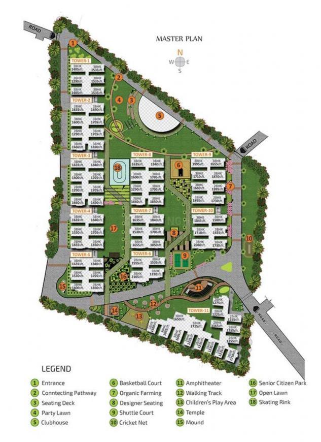Project Image of 1143.13 - 1731.27 Sq.ft 2 BHK Apartment for buy in Vasavi Sri Nilayam