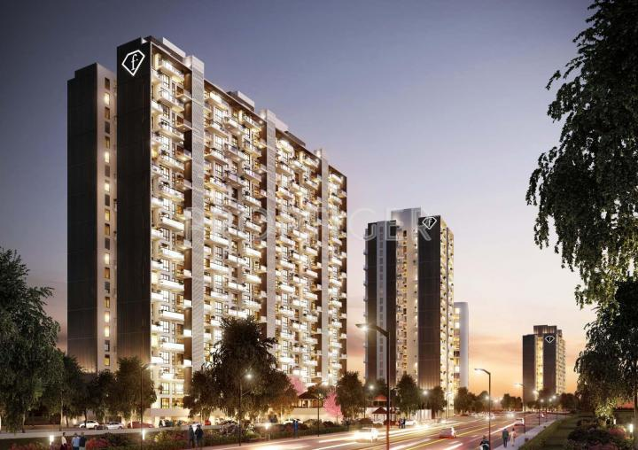 Project Image of 592.0 - 2120.0 Sq.ft 2 BHK Apartment for buy in Eiffel F Residences