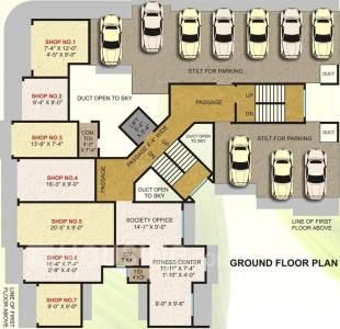 Project Image of 355 - 380 Sq.ft 1 BHK Apartment for buy in Lotus Vidhi Ratna
