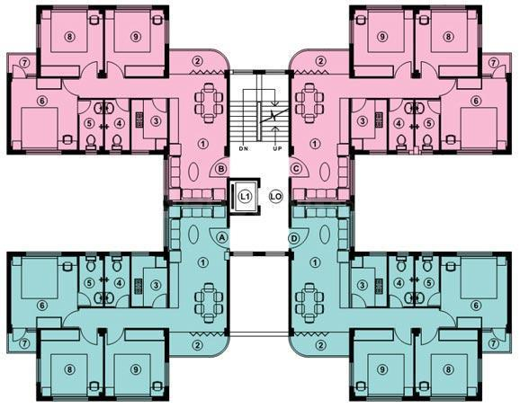 Project Image of 780 - 1270 Sq.ft 2 BHK Apartment for buy in Bengal Sisirkunja