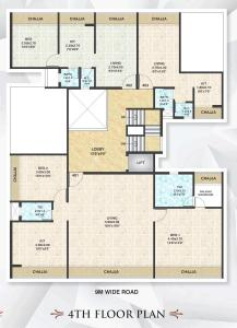 Project Image of 269.96 - 282.12 Sq.ft 1 BHK Apartment for buy in Mahavir Saivarad