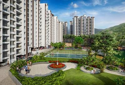 Project Image of 202 - 461 Sq.ft 1 BHK Apartment for buy in Paranjape Happiness Hub Varve