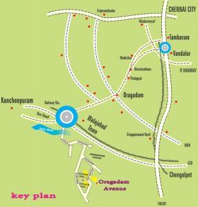 Residential Lands for Sale in Vetri Oragadam Avenue
