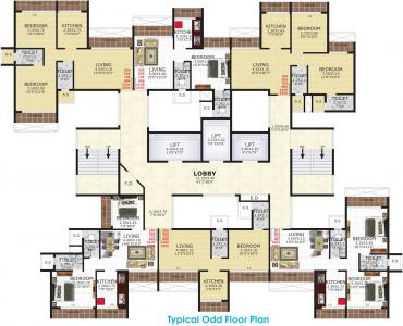 Gallery Cover Image of 488 Sq.ft 1 BHK Apartment for buy in Gami Viona, Kharghar for 6300000