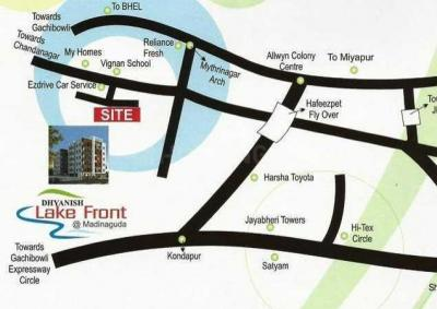 Project Image of 1130 - 1430 Sq.ft 2 BHK Apartment for buy in Dhyanish Lake Front