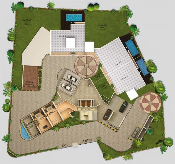 Project Image of 0 - 6708 Sq.ft 3 BHK Villa for buy in Dheeraj Equest Villas