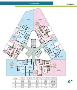 Project Image of 580 - 1120 Sq.ft 1 BHK Apartment for buy in Ratan Neptune
