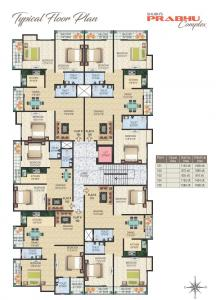 Project Image of 586.5 - 928.2 Sq.ft 2 BHK Apartment for buy in Sai Shrinkhala Shubhs Prabhu Complex