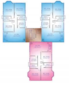 Gallery Cover Image of 1216 Sq.ft 3 BHK Apartment for rent in RDB Regent Ganga, Uttarpara for 13000