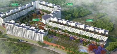 Project Image of 1177 - 4954 Sq.ft 2 BHK Apartment for buy in Rishabh The Parksyde