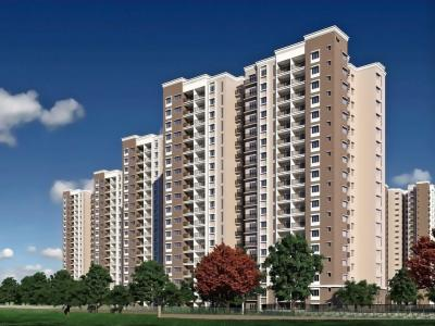 Gallery Cover Image of 1634 Sq.ft 3 BHK Apartment for rent in Prestige Song Of The South, Akshayanagar for 28000