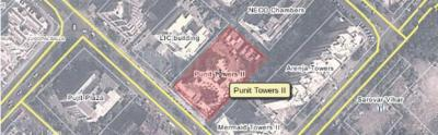 Gallery Cover Image of 1000 Sq.ft 2 BHK Apartment for buy in Punit Tower II, Belapur CBD for 11000000